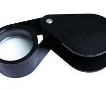 10x 50mm Plastic Jeweller Loupe
